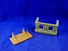 Playmobil, Escenografia, Medieval, Piezas de castillo, Balcon para castillo