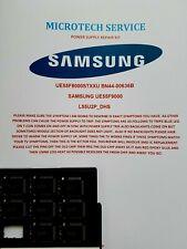 SAMSUNG UE55F9000 UE55F8000STXXU BN44-00636B L55U2P_DHS SLC1013M REPAIR KIT