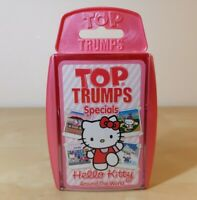 Top Trumps - Hello Kitty, Around the World. Card Game