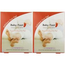 Baby Foot Lavender Easy Pack Exfoliant Foot Peel (Pack of 2) 100% Authentic