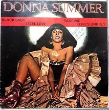 """DONNA SUMMER GIORGIO I FEEL LOVE +3 TRACKS 7"""" BRAZIL 1977 PROMO  EXCLUSIVE P/S"""