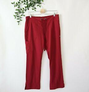 Grey's Anatomy by Barco Women's Scrub Bottoms Pants Size M Medium Merlot