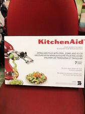 KitchenAid 7-Blade Spiralizer Plus with Peel Core and Slice Attachment Ksm2Apc
