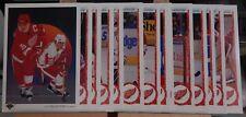 1990-91 90-91 Upper Deck Red Wings Team Set Low Numbers 15 Cards Yzerman