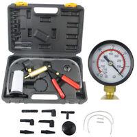 Car Manual Vacuum Pump Brake Bleeder Hand Held Pistol Pump Brake Oil Tester Kit