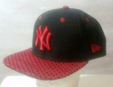 New Era 9fifty New York Yankees Snapback Cap- Red/Black- Original Fit