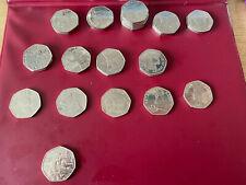 50p Beatrix Potter Coins Olympics Paddington Flopsy Bunny Peter Rabbit Rare Coin