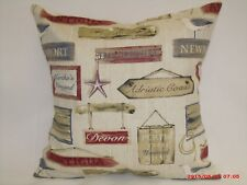 "2 X "" HABOUR""  CUSHION COVERS BY PRESTIGIOUS TEXTILES 100% COTTON 16""x 16"""