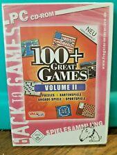 PC Spielesammlung 100+ Great Games Volume II (2005) USK 0, Windows98/ME/XP, NEU