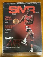 SMR PSA Magazine August 2020 Michael Rare Air Jordan Cover WRAPPER still on it