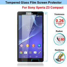9H Tempered Glass Screen Protector Film For Sony Xperia Z3 Compact D5803 D5833