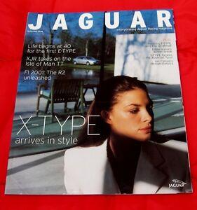 Jaguar Magazine 001 - Full Colour Quarterly Publication - Spring 2001 - Eng Text