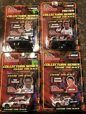 NASCAR RACING CHAMPIONS CHASE THE RACE COLLECTORS SERIES 1:64  4 Car Lot NEW