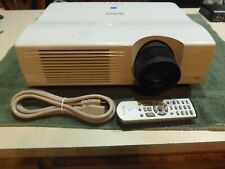 Sony VPL-PX40 3LCD Projector 3500 ANSI HD 1080i HDMI-adapter bundle 717 Lamp Hrs