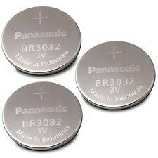 3 NEW PANASONIC BR3032 BR 3032 3v LITHIUM BATTERIES BULK