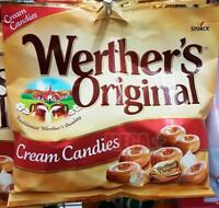 Storck Werther s Original Sugar Cream Candies Sweet Caramel Chocolate Candy 150g