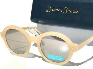 NEW Draper James GEORGIA Cream Designer Frame w/ Mirror Women's Sunglass SU 0048