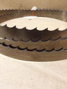 "Qty 1 - Wood Mizer SilverTip Band saw Blade 15'4 (184"") x 1-1/2"" x 045 x 7/8 10°"
