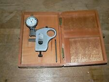 """COMPAC GENEVE SWISS SNAP GAGE GAUGE INDICATOR 0-1"""" 0.0001"""" GREAT CONDITION 1215"""