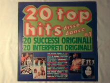 LP 20 Top hits disco dance n 1 ABBA ISAAC HAYES SALSOUL ORCHESTRA RITCHIE FAMILY