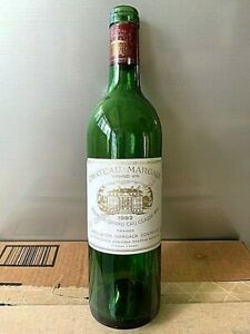 Chateau Margaux First Growth 1982 Empty Bottle