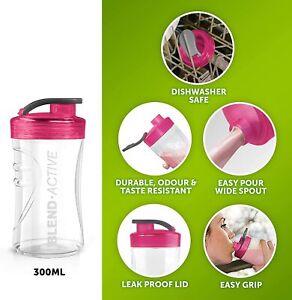 Single Breville Blend Active Spare 300ml Bottle BPA Free Pink VBL129 Blend & Go