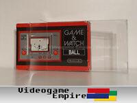 1x Schutzhülle Game & Watch Ball Club Nintendo [3cm Tiefe!] OVP Hülle 0,4mm