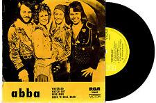 "ABBA - WATERLOO - RARE EP 7"" 45 VINYL RECORD PIC SLV 1974"