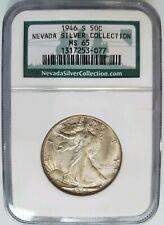 1946 S Walking Liberty Half Dollar NGC MS 65 Nevada Silver Collection Coin Hoard