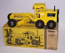 "Tonka Construction Truck 17"" Road Grader  Model 510 w/Box Farm Toy Vintage"