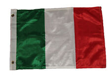 12x18 12''x18'' Italy Italian Rough Tex Knitted Flag Banner Grommet
