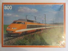 Nathan 1983 Jeux Nathan Paris France Rail Train 500 TGV Puzzle