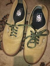 Vans Era Pro Mens Low Top Skateboard Shoes Size 11.5 Brown Gum Sole