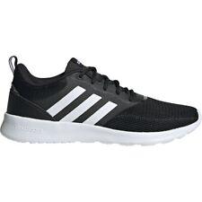 Womens Adidas Cloudfoam QT Racer Black 2.0 Athletic Running Shoe FV9529 Size 6-9