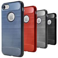 Per iPhone 7+ 8 Plus Silicone Protezione Custodia Leggera Case Morbida TPU Cover