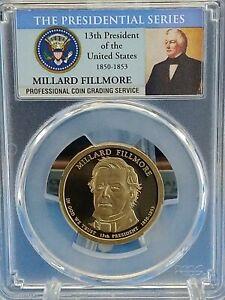 2010 S $1 Millard Fillmore Dollar PCGS PR69DCAM