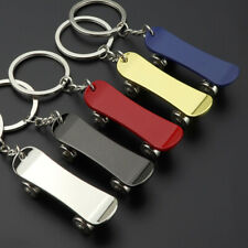 1PC Lovely Metal Mini Skateboard Keyring Keychain Cute Key Chain Charm Decor
