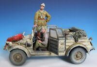 1/35 Resin German DAK Paratroopers 2 Soldiers Unassembled Unpainted BL907