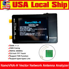 NanoVna-H 50Khz-900Mhz Antenna Network Analyzer Hf Vhf Vna Uhf Uv w/ Rf Demo Kit