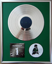 """JAMIROQUAI The Return encadrée CD COVER +12"""" vinyle d'or/platine disque"""