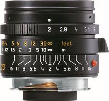 Leica summicron-m 2/28mm asph., negro anodizado 11672