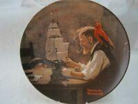 Der Schiffsbauer (Papagei)  Rockwell 1980  Bradex  M.Knowles