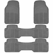 4PC ALL WEATHER   GRAY RUBBER FLOOR MATS MT-9002+3GR for GMC YUKON DENALI