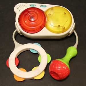 Fisher Price 4-in-1 Step Play Piano REPLACEMENT Part Drums Microphone Tamborine