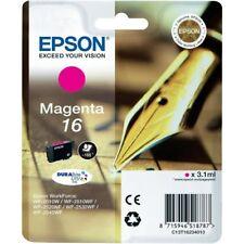 Original Epson Ink Cartridge Magenta c13t16234012 T1623 MHD 09/2019