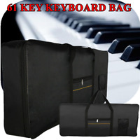 Regular 61 Key Electronic Piano Keyboard Bag Case Hand Carry Bag