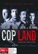 Cop Land (DVD)  Di Nero / Stallone/ Liotta  - Region 4 - New and Sealed