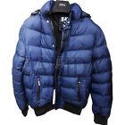 Jeel nero uomo giacca invernale giù-osservano con cappuccio NUOVO