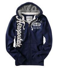 New With Tags Mens Zip Up Muscle Aeropostale Hoody Hooded Top Sweatshirt Medium
