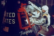 New 5x7 NASA Photo: John Glenn Enters Friendship 7 for 1st Earth Orbit